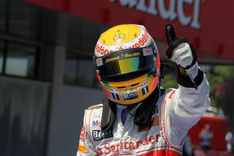 Hamilton venceu em 2007 e 2010 no Canadá