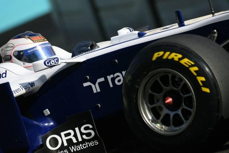 Carro de Rubens Barrichello