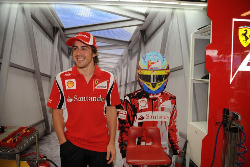 Alonso inicia sua segunda temporada na Ferrari