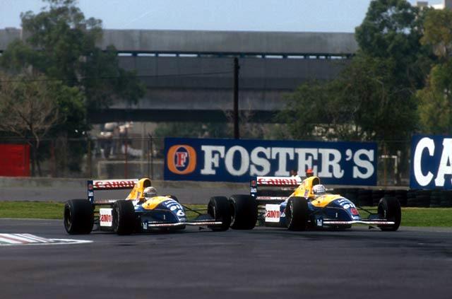 Patrese e Mansell disputam vitória na edição de 1991