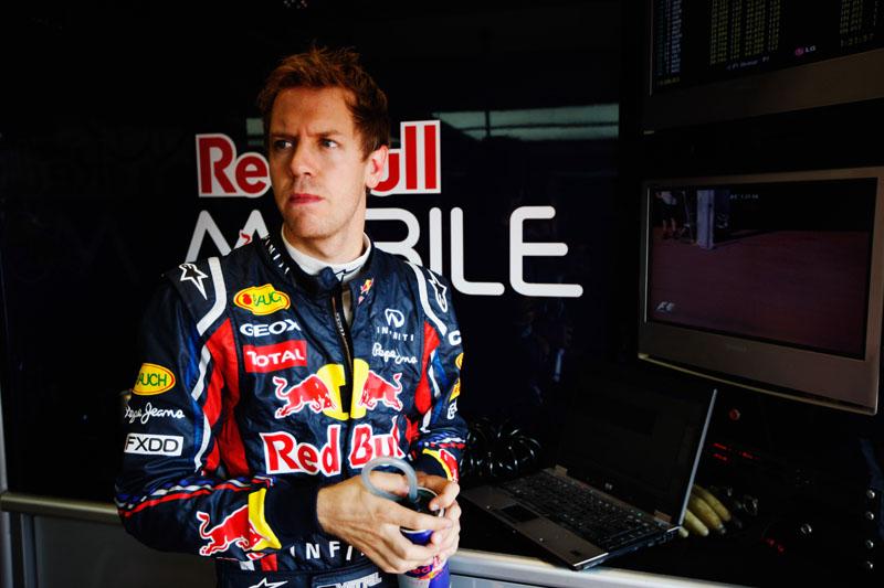 Vettel venceu cinco das seis provas até agora