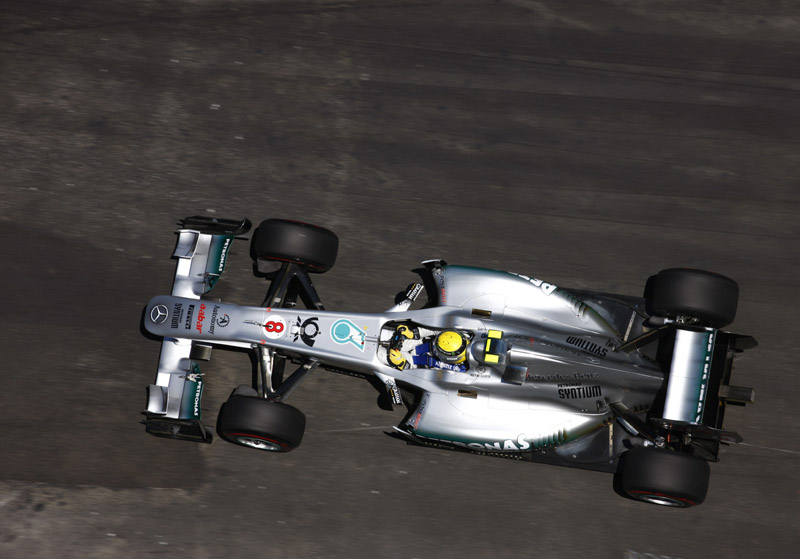 Nico Rosberg, da Mercedes