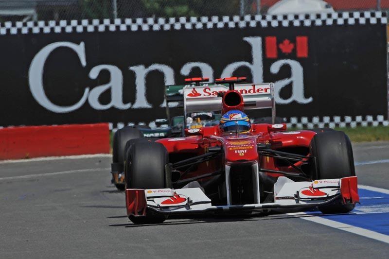 Alonso foi o melhor nos treinos livres para o GP do Canadá