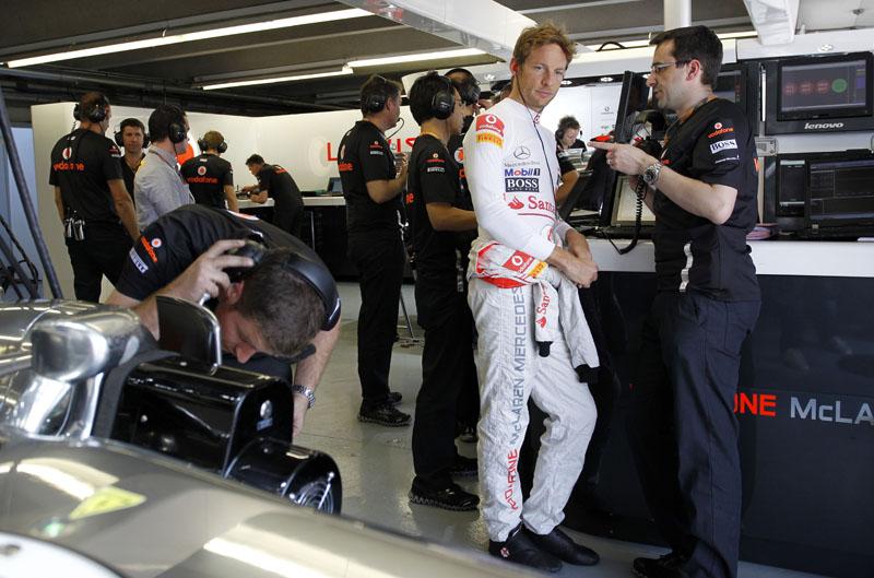 Button larga apenas em sétimo no GP do Canadá