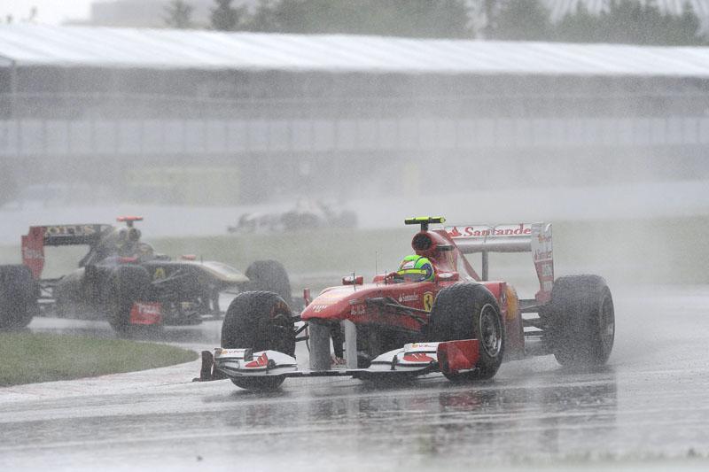 Massa andou bem na chuva e no seco