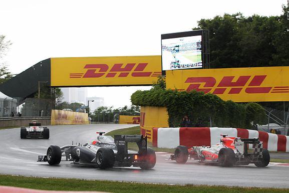Barrichello ganhou sete posições na corrida