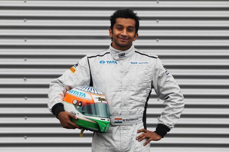 Karthikeyan correu pela Jordan em 2005 e foi piloto de testes da Williams