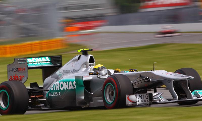 Rosberg foi apenas o 11º no Canadá