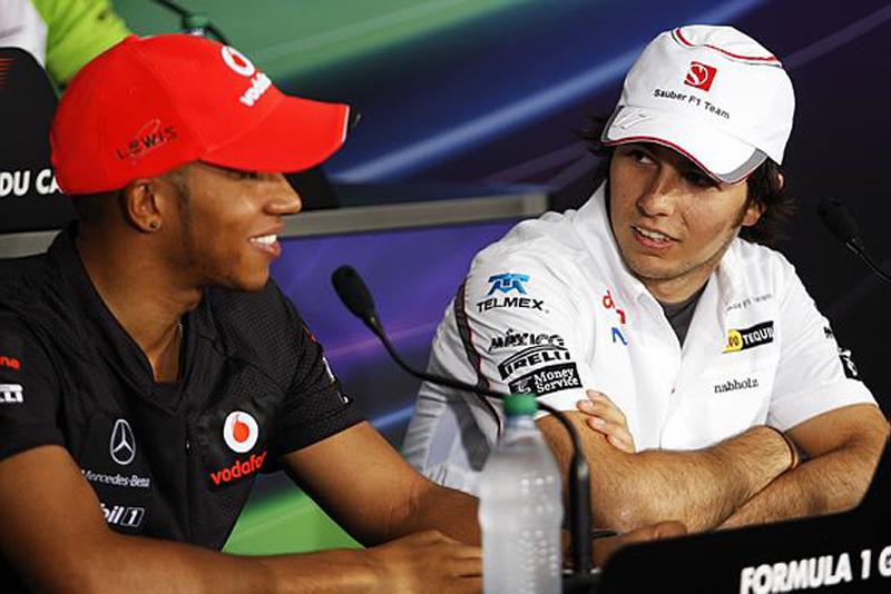 Hamilton chegou calmo e saiu na berlinda novamente, enquanto Perez pensava em voltar e nem correu