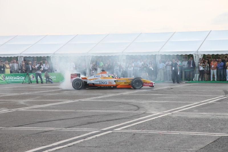 A Renault já esteve em Stochi em 2009 em uma demonstração