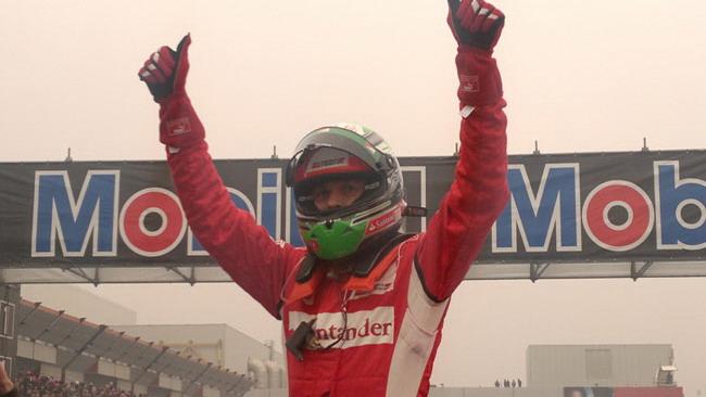 Fisichella e la Ferrari