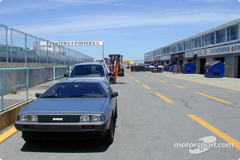 Back to the future on pit lane