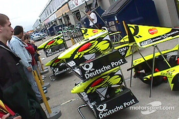 Pit lane set-up