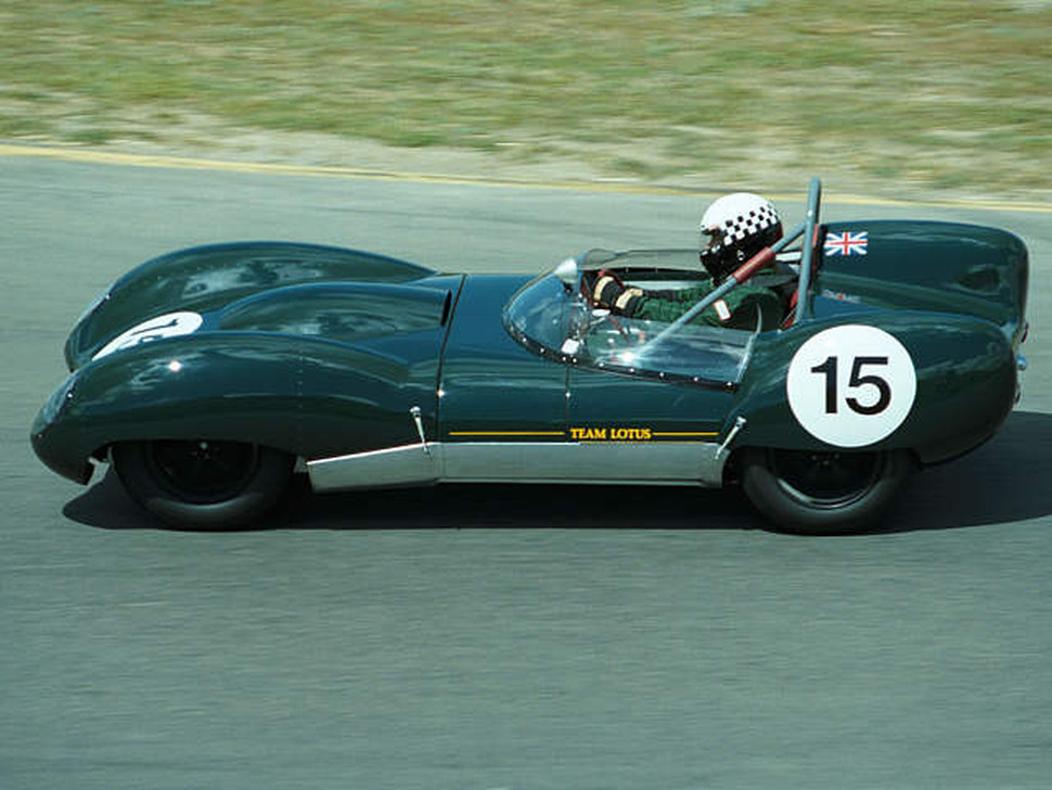 Group 3: #15 1958 Lotus 15