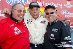 These racing legends are still winning just a generation removed. Connie Kalitta, Ed the Ace