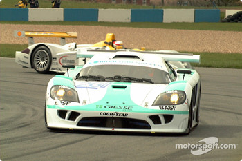 Konrad Saleen in Melbourne as Audi runs wide
