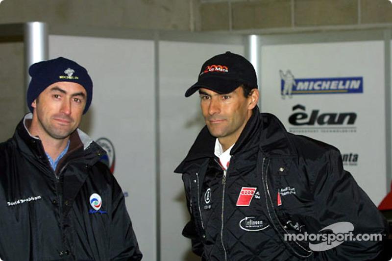 David Brabham & Emanuele Pirro
