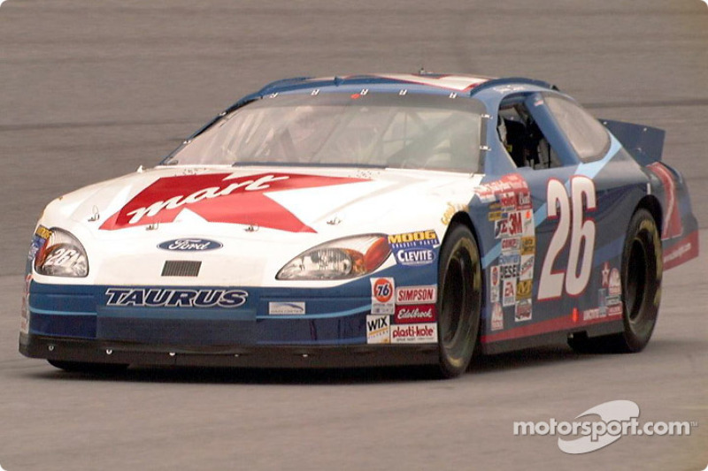Jimmy Spencer entering pit lane