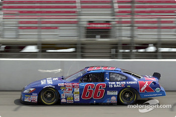 Todd Bodine and the Blue Light Special Ford Taurus