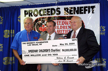 Ceremony for the Speedway Children's Charities