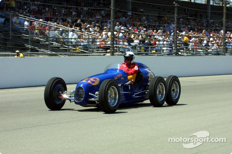 Vintage Indy car