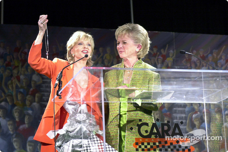 Florence Henderson and Mary Lou Bogner