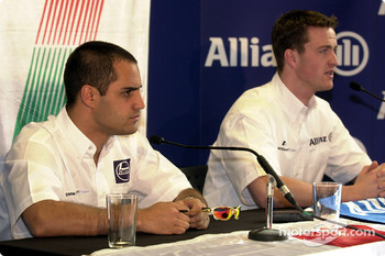 Press conference: Juan Pablo Montoya and Ralf Schumacher