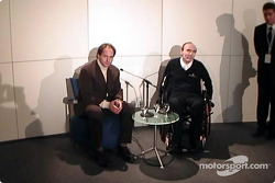 Gehard Berger, Frank Williams