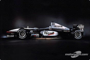 The West McLaren Mercedes MP4-16
