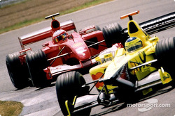 Rubens Barrichello and Ricardo Zonta