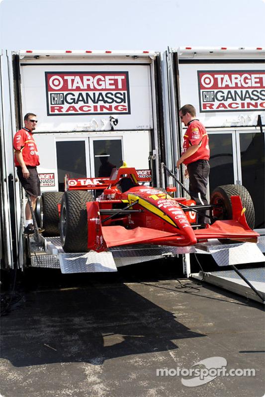 Ganassi Racing arriving