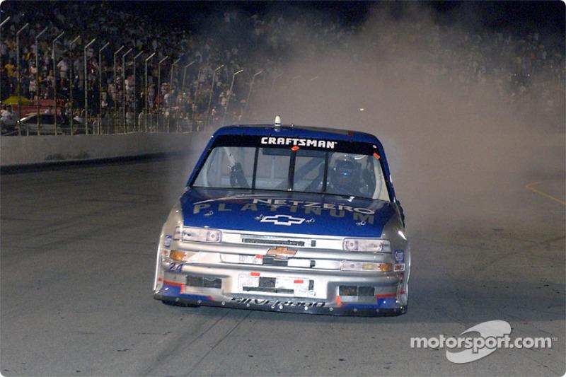 Race winner Jack Sprague