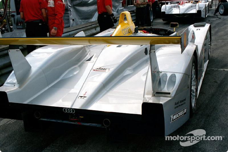 Audi rear