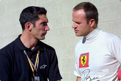 Max Papis and Rubens Barrichello
