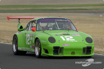 The Porsche Turbo of pole winner Bob Stefanowicz