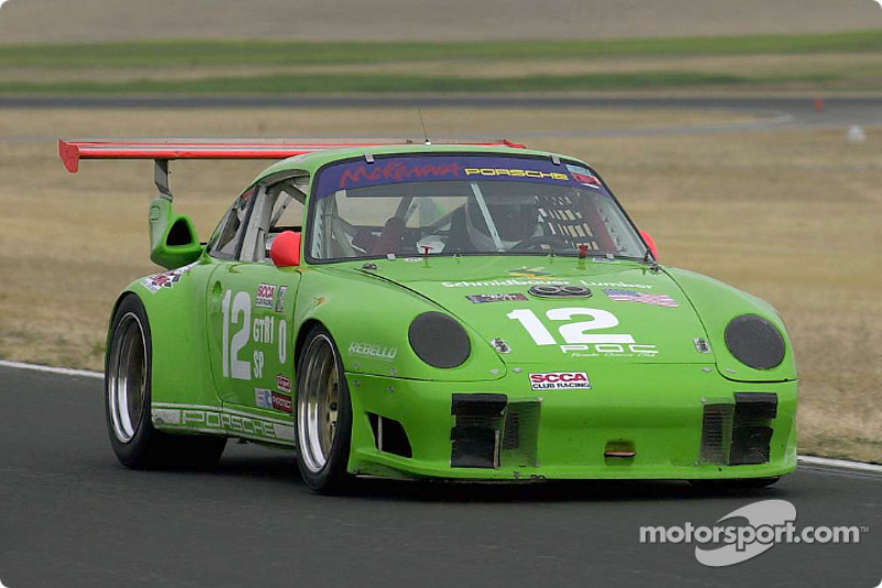 The Porsche Turbo of pole winner Bob Stefanowicz