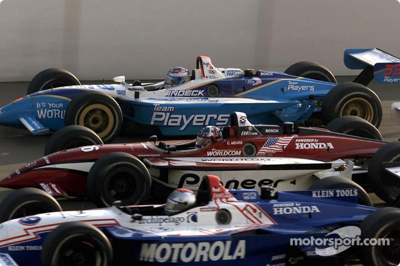 Michael Andretti, Casey Mears and Alex Tagliani