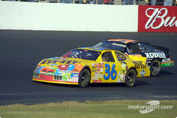Ken Schrader and Stacy Compton