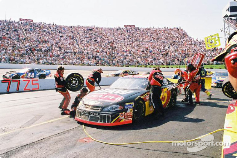 Pitstop for Jerry Nadeau