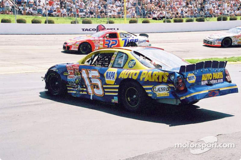 Trouble for Michael Waltrip