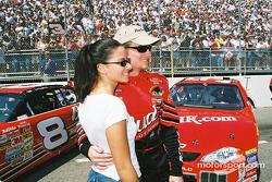 A happy Dale Earnhardt Jr.