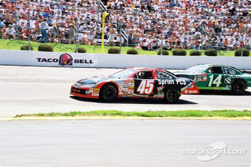 Kyle Petty and Ron Hornaday Jr.