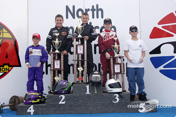Junior Sportsman-1 podium