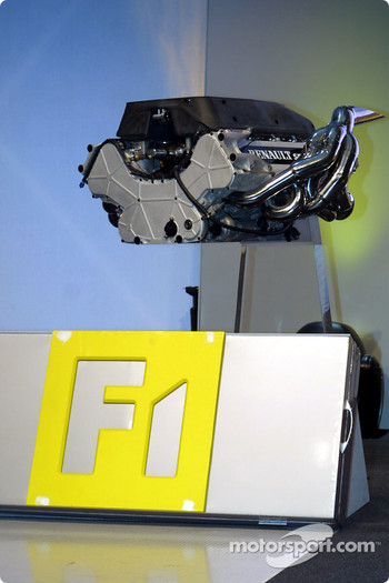 The RS22 V10 engine