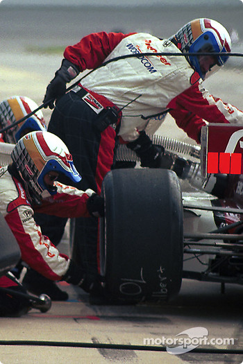 Pitstop for Alex Zanardi