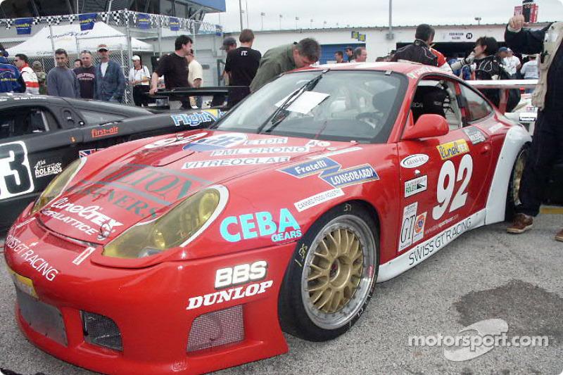 Porsche GT3 R (Casadel/Sanguiolo/Wilton/Clark)