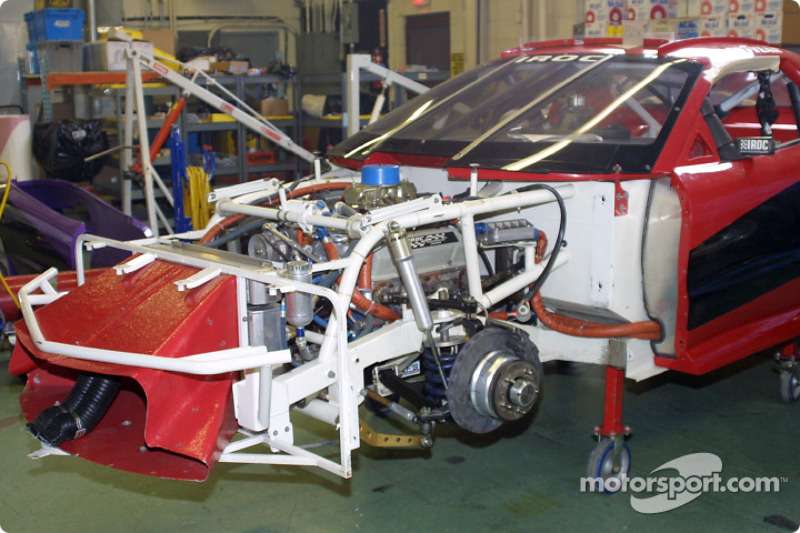 Engine bay and front suspension