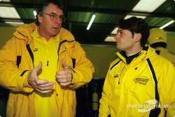 Gary Anderson and Giancarlo Fisichella