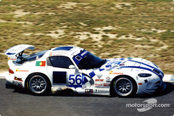 Portugal's Tiago Monteiro was to drive the withdrawn Lanesra Panoz but drove with Bobby Verdon-Roe and 'daddy' Breyner in the Brookspeed GTS Viper