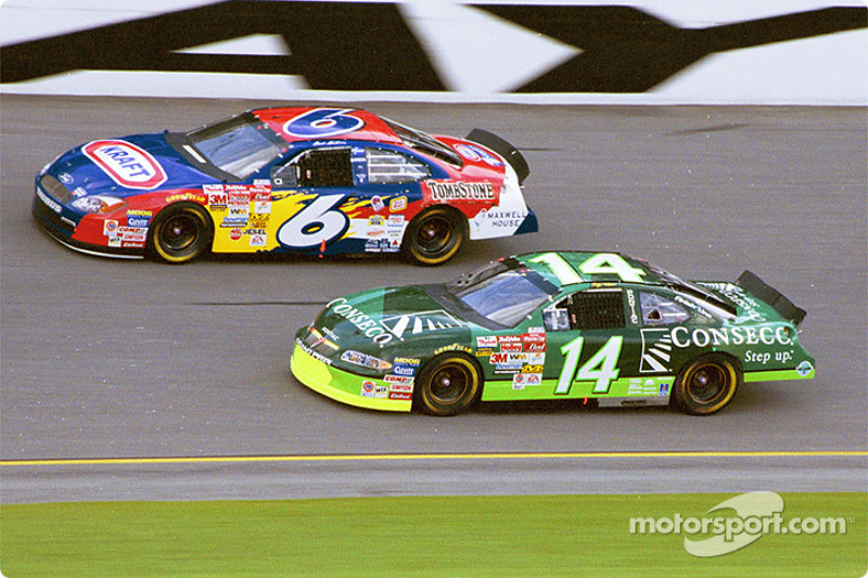 Mark Martin and Stacy Compton